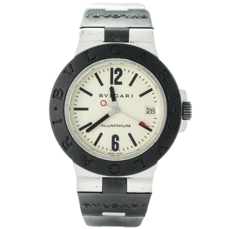 Bvlgari Aluminium AL38A Swiss Automatic Men's Watch