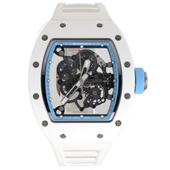 Richard Mille Ceramic Rubber Bubba Watson Asia Ed Manual Wristwatch Ref RM055