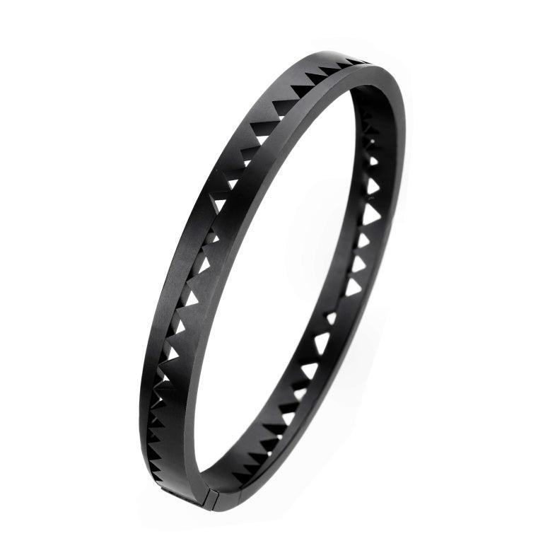 Akillis Capture Me Bracelet Black Titanium