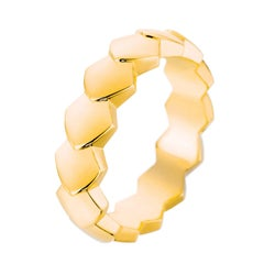 Akillis Python Ring 18 Karat Yellow Gold