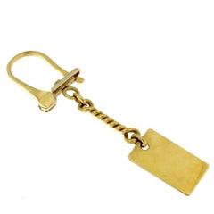 Classic Key Ring in 18 Karat Yellow Gold