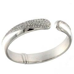 White Gold 18 Karat and White Diamond Bracelet