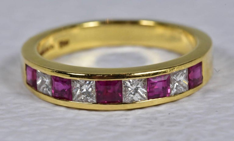 Tiffany And Co Ruby And Diamond Ring For Sale At 1stdibs