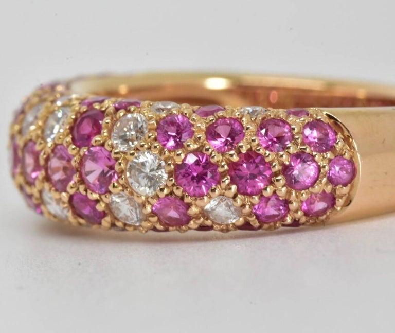 Etincelle Bands: Cartier Etincelle De Cartier Diamond And Pink Sapphire