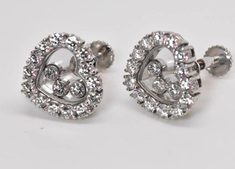Chopard Happy Diamond Earrings 2