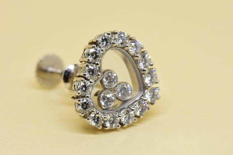 Chopard Happy Diamond Earrings 6
