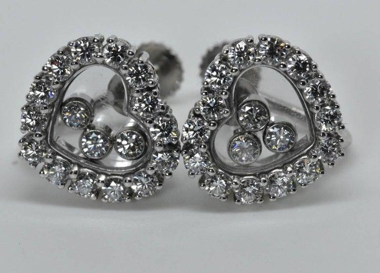 Chopard Happy Diamond Earrings 7