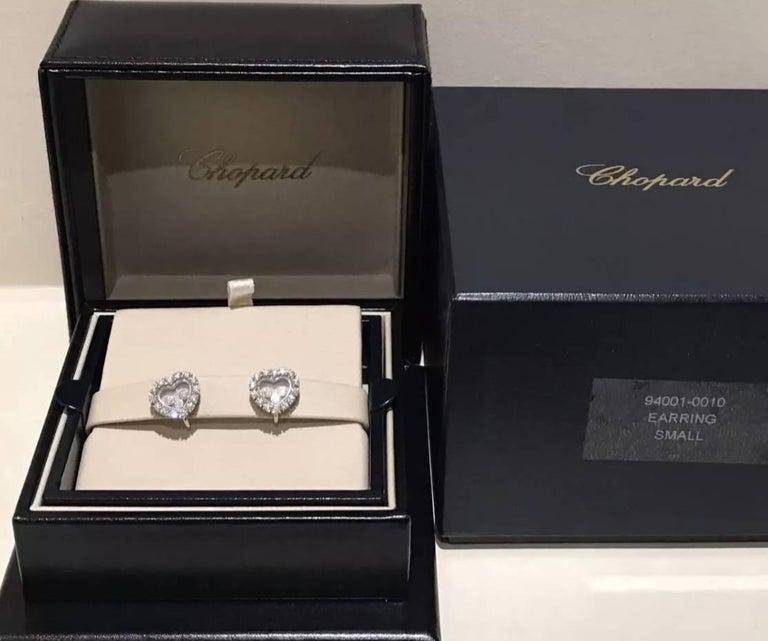 Chopard Happy Diamond Earrings 8