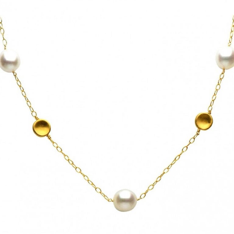 Yellow Gold South Sea Pearl 12-13mm Tincup