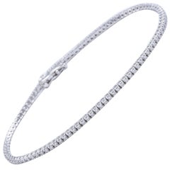Diamond Tennis Straight Bracelet 1.00 Carat