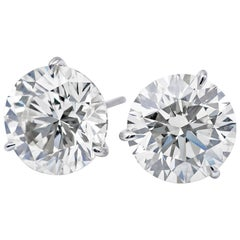 Diamond Studs GIA 1.44 Carat G-H/VS1-VS2