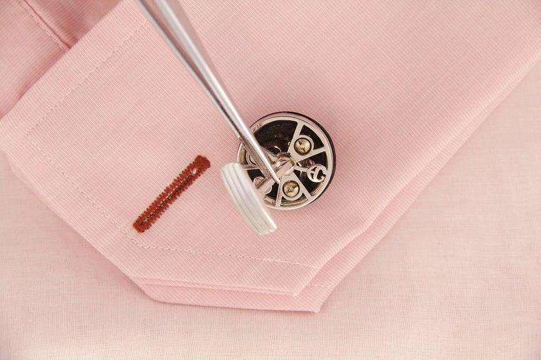 Ella Gafter Ruby Sapphire Cufflinks  For Sale 1