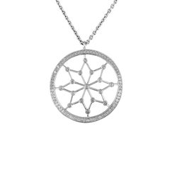 1.20 Carat Starry Night Diamond Pendant Necklace