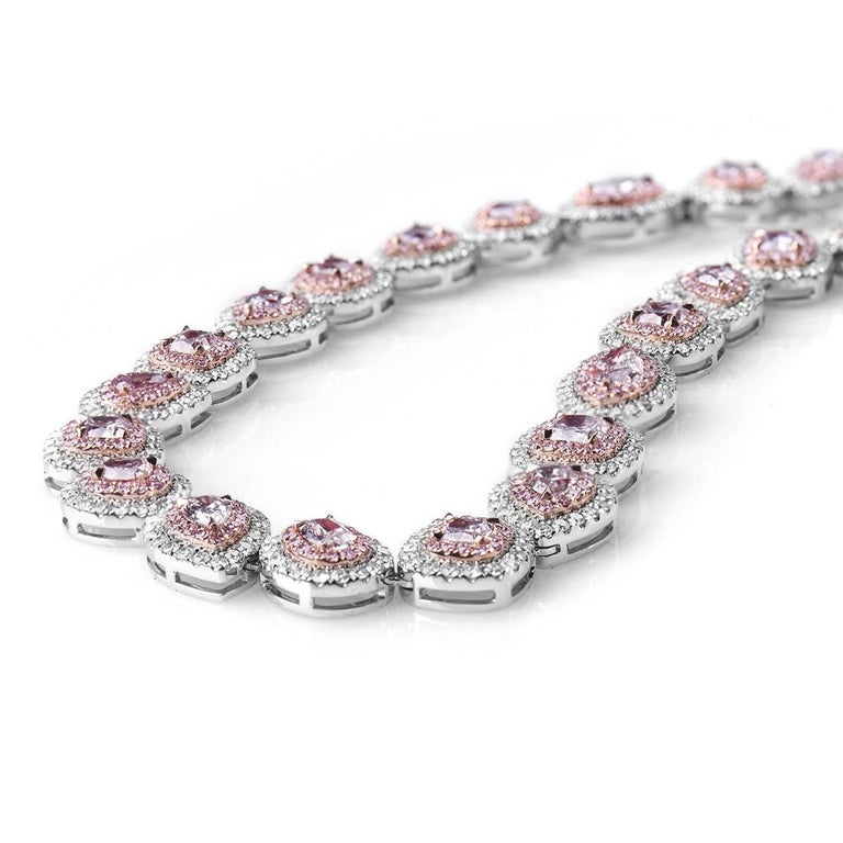 pinkdiamond pink diamond com necklace glamira pendant necklaces colored white abellone order