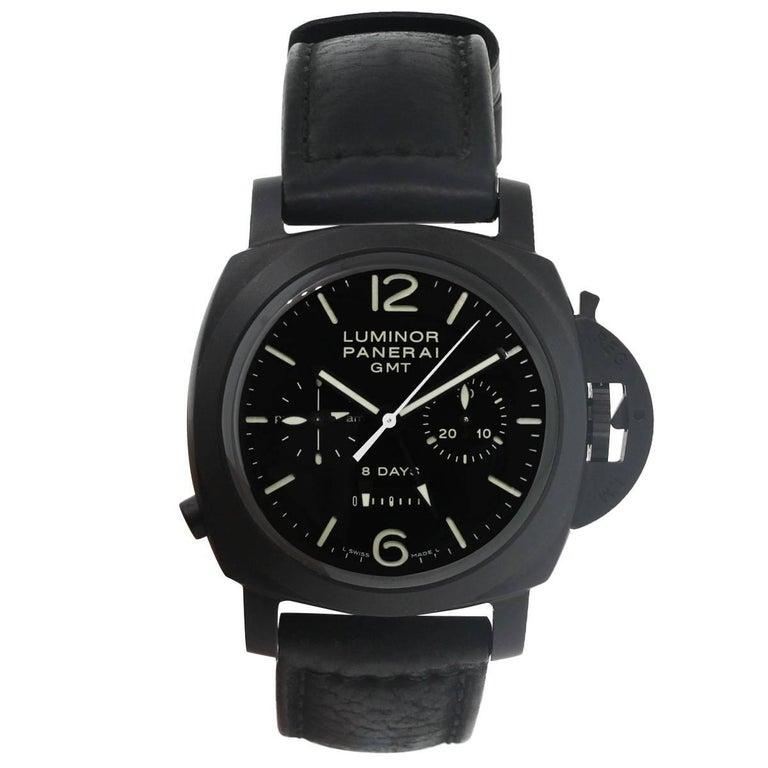Panerai Ceramic Luminor Wristwatch Ref PAM00317, 1950 2