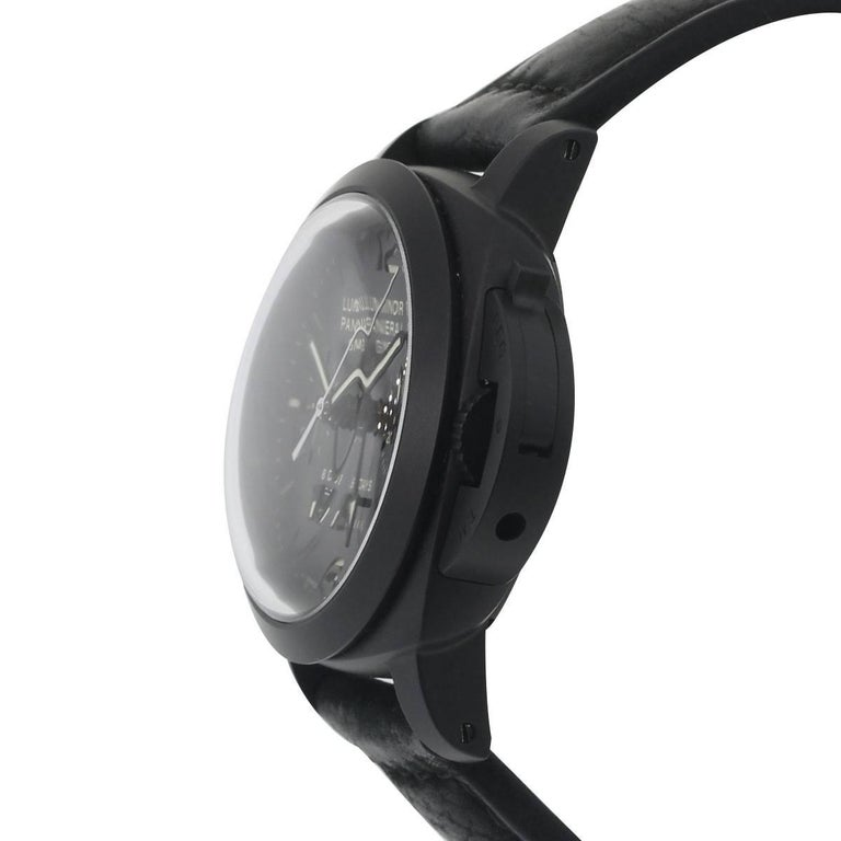 Panerai Ceramic Luminor Wristwatch Ref PAM00317, 1950 3