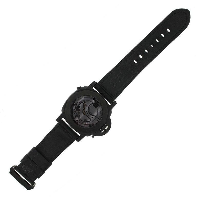 Men's Panerai Ceramic Luminor Wristwatch Ref PAM00317, 1950 For Sale