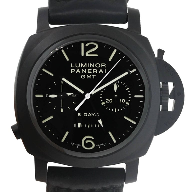Panerai Ceramic Luminor Wristwatch Ref PAM00317, 1950 For Sale