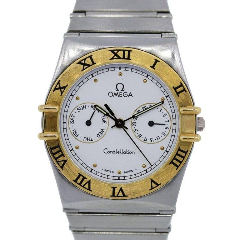 Omega Stainless Steel Constellation Quartz Wristwatch