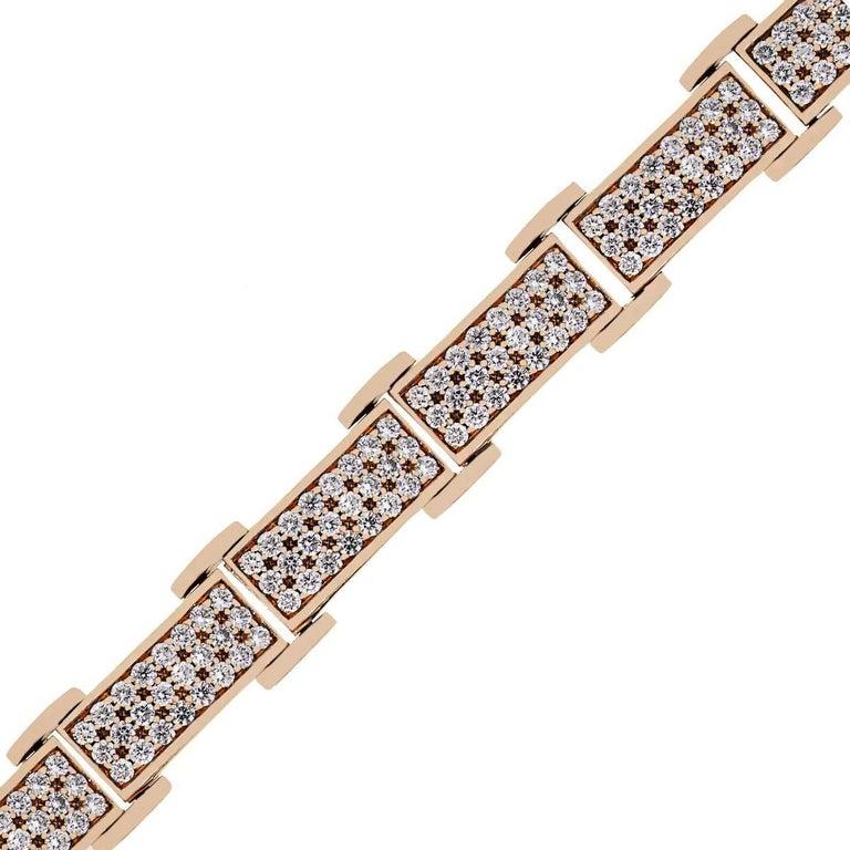 20 Carat Total Diamond Bracelet