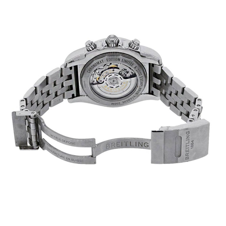 Breitling Stainless Steel Bentley Automatic Wristwatch Ref: Breitling Stainless Steel Chronomat GMT Automatic