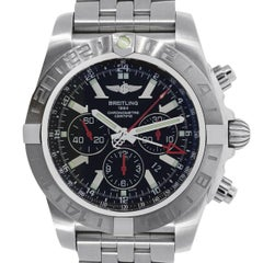 Breitling Stainless Steel Chronomat GMT Automatic Wristwatch Ref AB041210