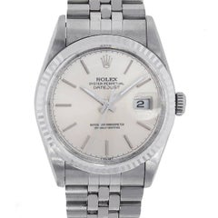 Rolex Stainless Steel Datejust Automatic Wristwatch Ref 16234