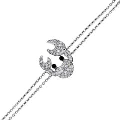Diamond Crab Bracelet