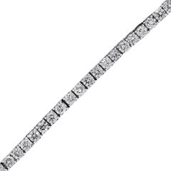 12 Carat Total Diamond Tennis Bracelet