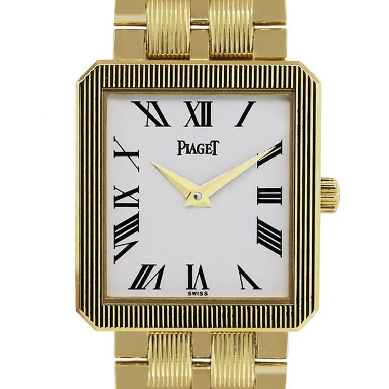 Piaget yellow gold Protocole Quartz Wristwatch Ref M601D