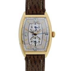 Franck Muller rose gold Master Banker Havana Automatic Wristwatch
