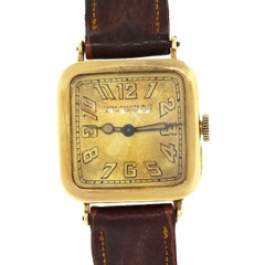 Patek Philippe Yellow Gold Vintage Manual Wristwatch, Circa 1920s