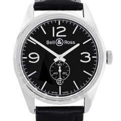 Bell & Ross Stainless Steel Vintage Automatic Wristwatch Ref BR123