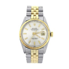 Rolex yellow gold Datejust Automatic Wristwatch Ref 1160