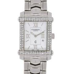 Charriol Stainless Steel Diamond Bezel Colvmbvs Quartz Wristwatch Ref CCSTRH2