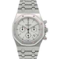 Audemars Piguet Stainless steel Royal Oak Automatic Wristwatch Ref 83013