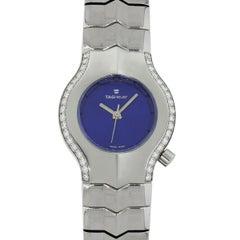TAG Heuer Stainless steel Alter Ego Quartz Wristwatch Ref WP1318