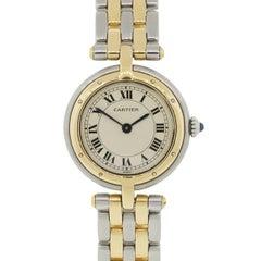Cartier Stainless steel Cougar Vendome Quartz Wristwatch Ref 17736
