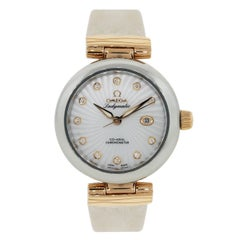 Omega Ladies rose gold Stainless steel De Ville Ladymatic Automatic,Wristwatch