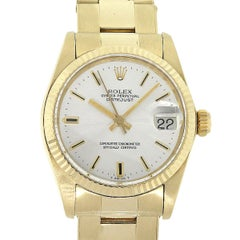 Rolex 6827 Datejust Silver Dial Ladies Watch