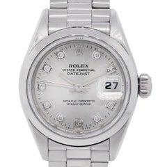 Rolex 69166 Platinum Diamond Dial Watch
