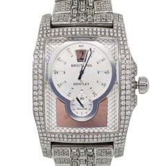 Breitling Bentley A28362 Flying B Aftermarket Diamond Watch
