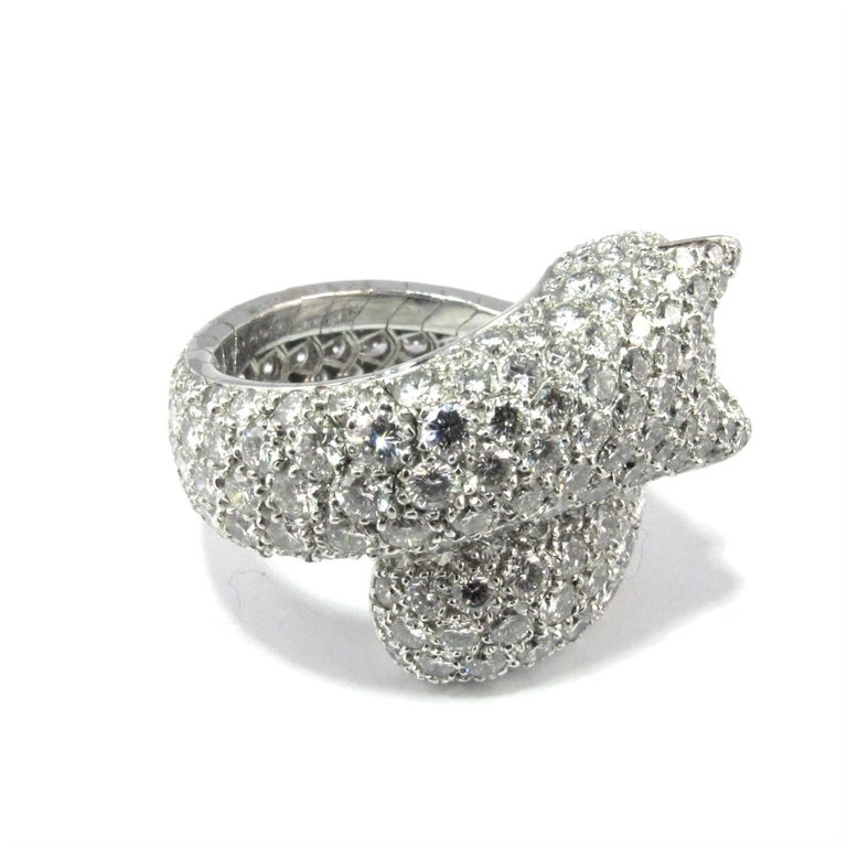 Cartier diamond 'Panthere de Cartier' Ring 4