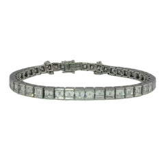 Cartier High Jewelry 'Riviere' Diamond Bracelet