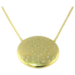 Bonds of Union ' Lights of Diamonds ' Yellow Gold Pendant, Ltd Ed. No 28/40.
