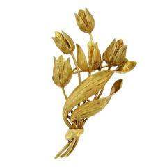 Tiffany & Co. Tulip Brooch