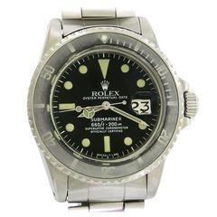 Rolex Stainless Steel Submariner Diver's Wristwatch Ref. 1680 Circa 1971