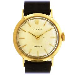 Rolex Ladies Yellow Gold Precision Manual Wind Wristwatch, circa 1960s
