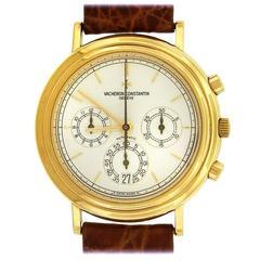 Vacheron & Constantin Yellow Gold Chronograph Automatic Wristwatch, circa 49003
