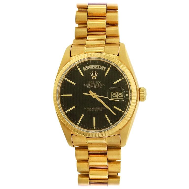 rolex oyster bracelet for sale rolex yellow gold oyster perpetual day date presidential 2002
